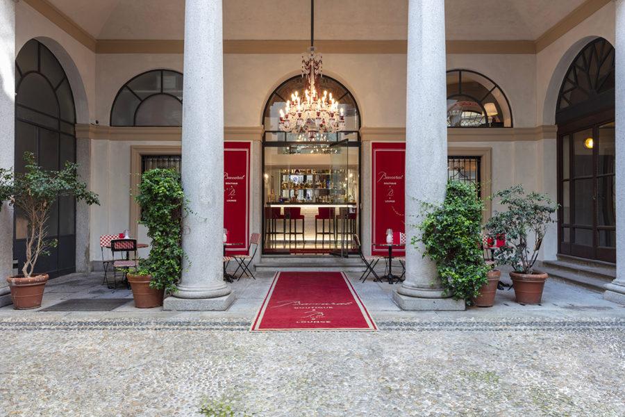 Baccarat Boutique Bbar Lounge Montenapoleone